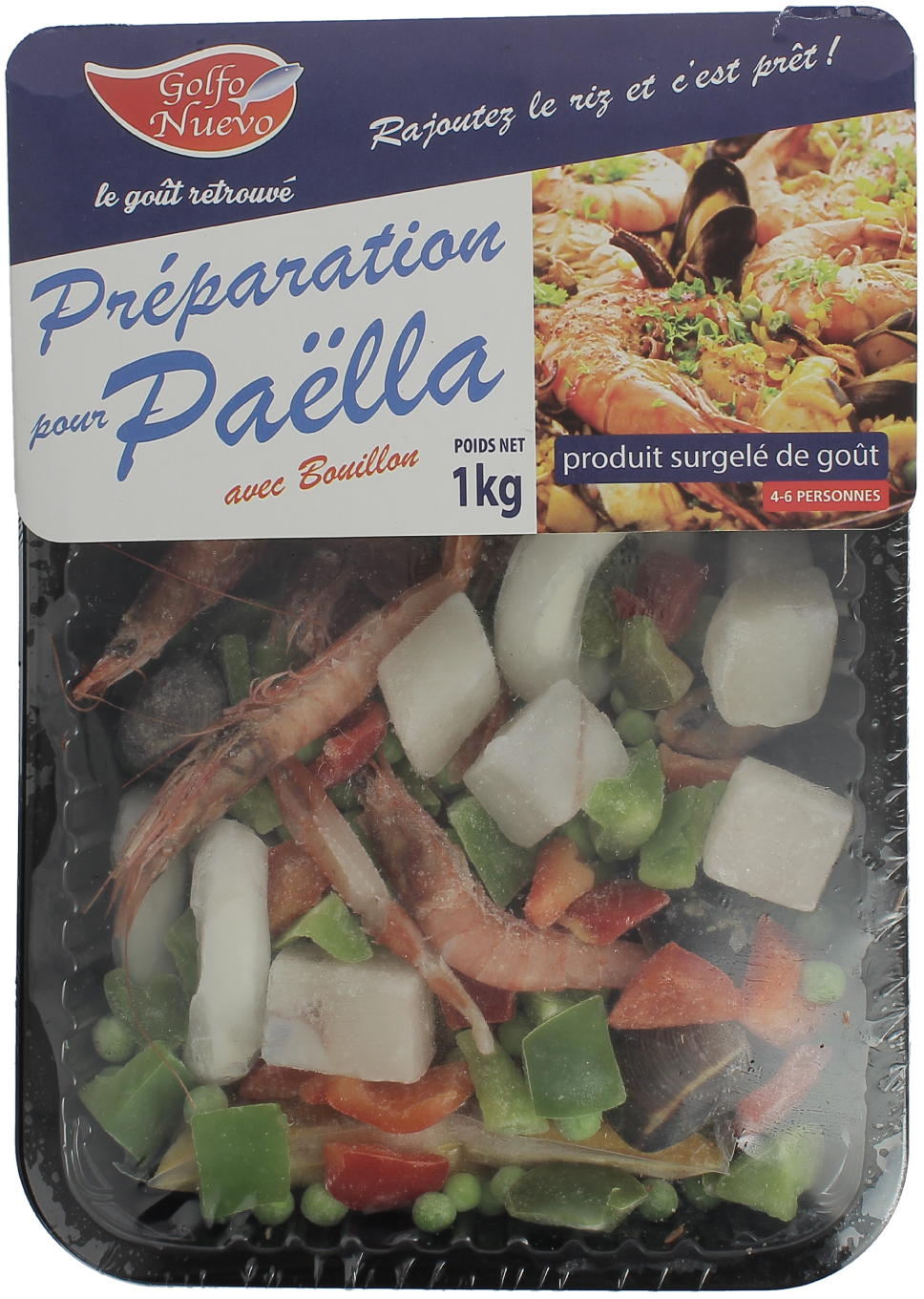 préparation pour paella