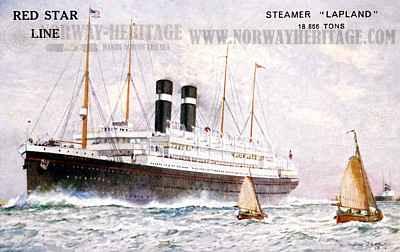 Ouimet's ship to England