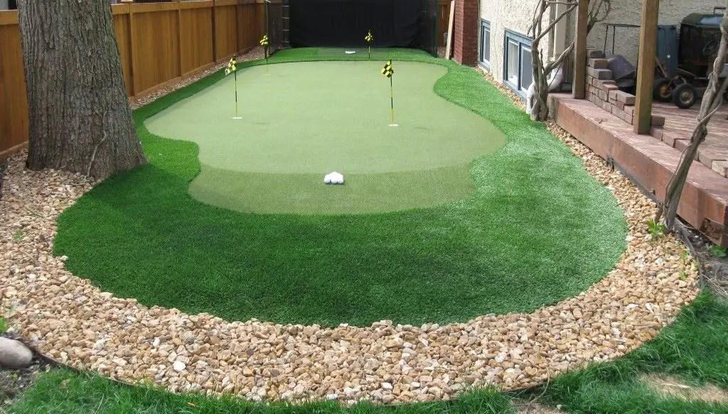 Artificial Putting Greens Are Worth It, Putting Green Garden Grass