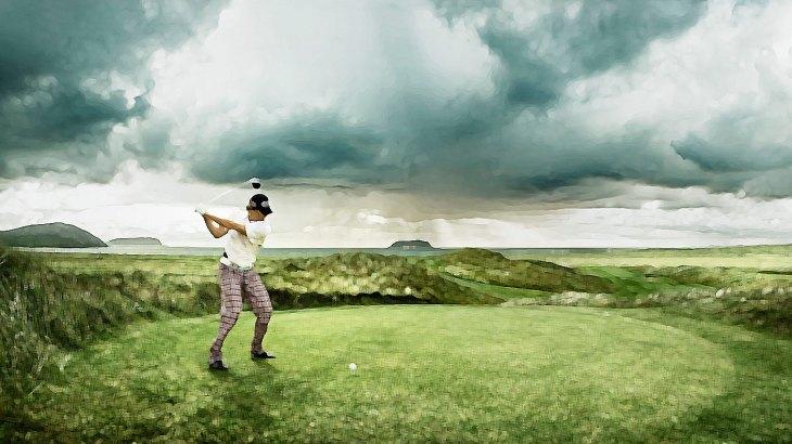 自然とゴルフ