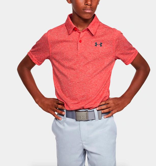 polo enfant under armour golf