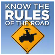 golf cart rules of the road