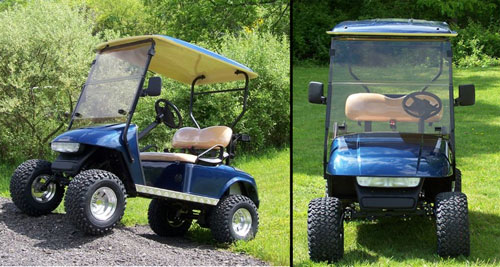 Exploring the Lift Kits for Custom Golf Carts for Sale