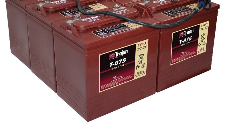 Trojan T-875 Golf Cart Batteries Review of Power, Battery Life, and Price