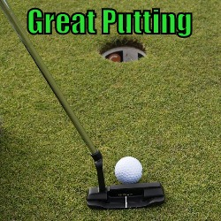 great putting