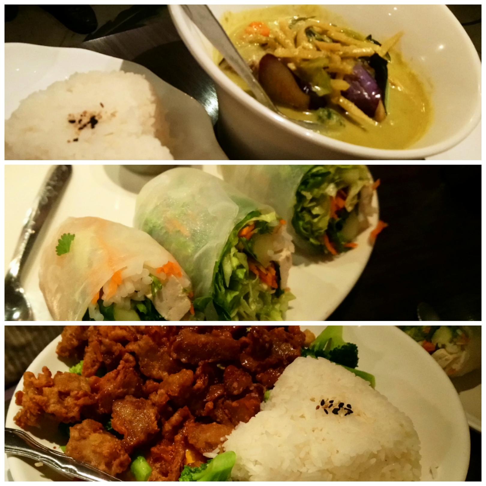ベジタリアン タイ料理