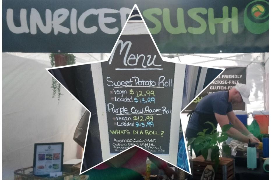 ファーマーズマーケット 寿司 米なし
