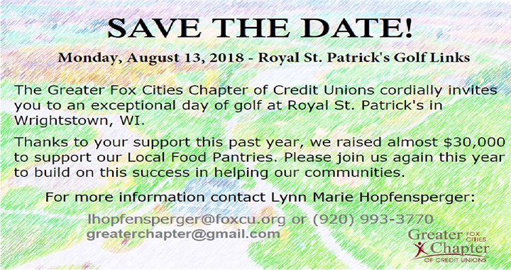 Greater Fox Cities Chapter Charity Golf Outing