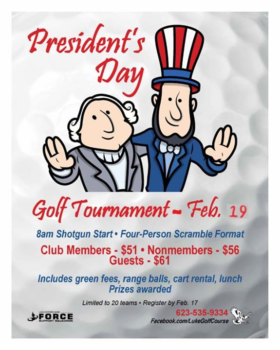 President's Day Golf Tournament