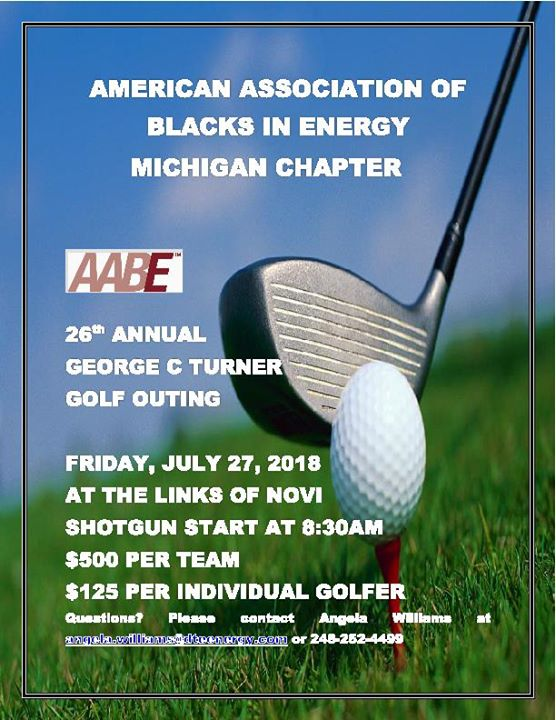 AABE® MI 26th Annual George C. Turner Golf Outing