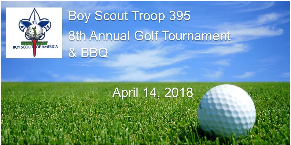 Boy Scout Troop 395 9th Annual Golf Tournament & Charity Auction