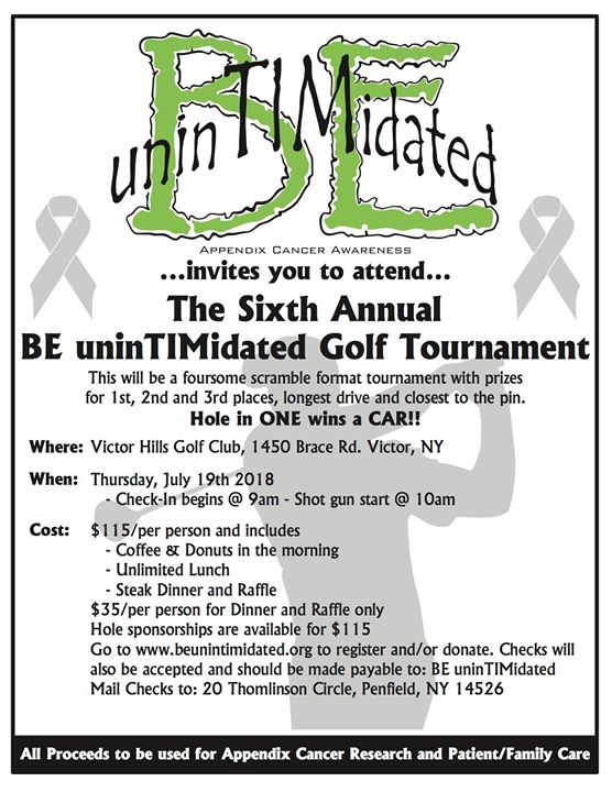 Sixth Annual Golf Tournament