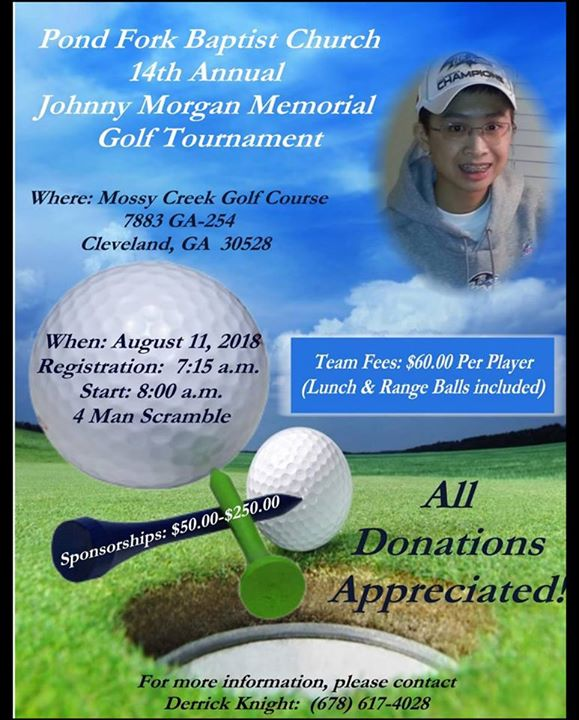 Johnny Morgan Memorial Golf Tournament