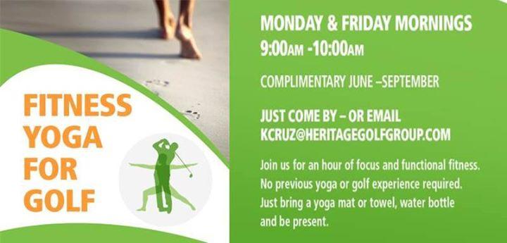 Fitness Yoga for Golf
