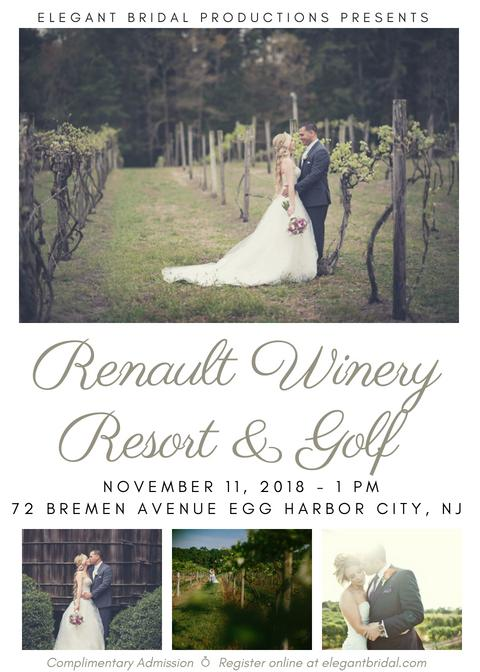 Renault Winery Resort & Golf Bridal Show