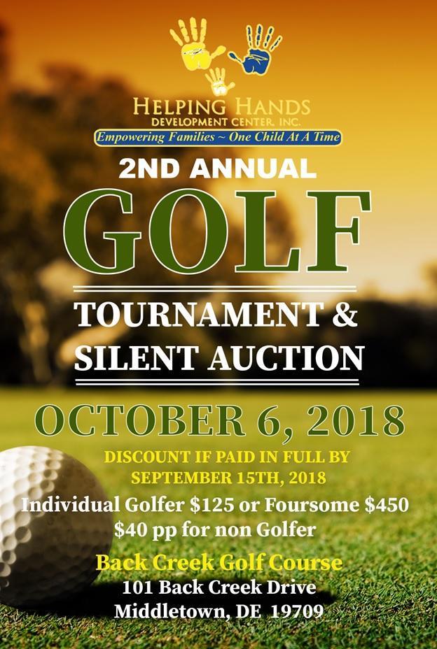 Helping Hands Development Center 2nd Annual Golf Tournament & Silent Auction