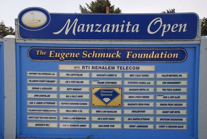 2019 Manzanita Open Golf Tournament
