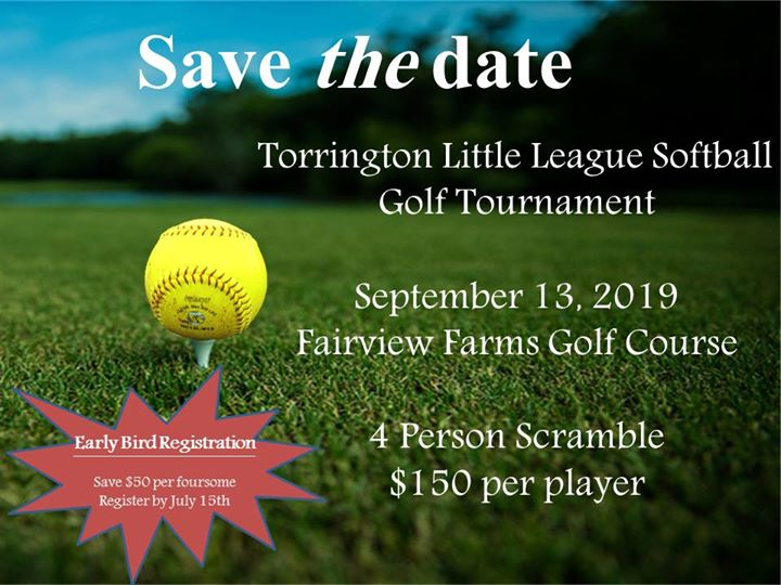 Torrington Little League Softball Golf Tournament