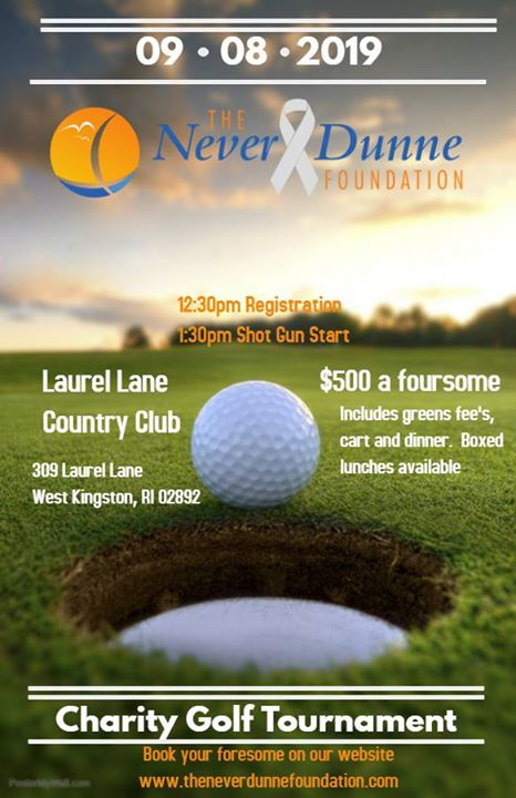 Never Dunne Charity Golf Tournament