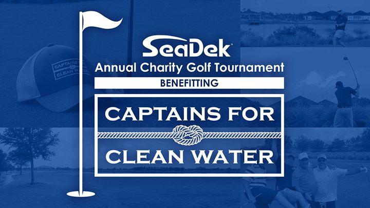 SeaDek Annual Golf Tournament for Captains for Clean Water