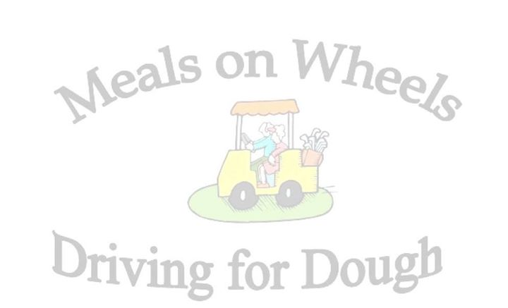 13th Annual Meals on Wheels Charity Golf Tournament