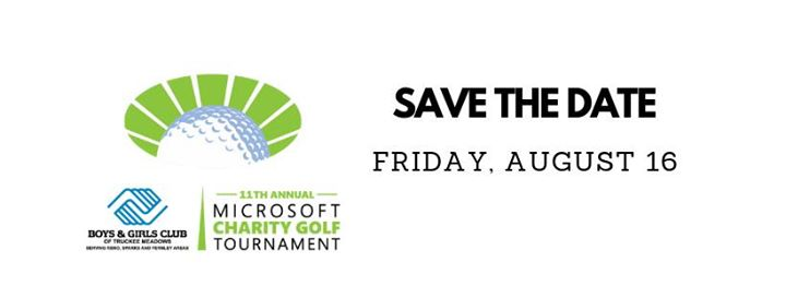 11th Annual Microsoft Charity Golf Tournament