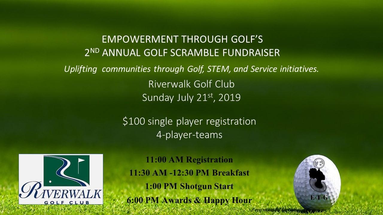 Empowerment Through Golf 2nd Annual Golf Scramble