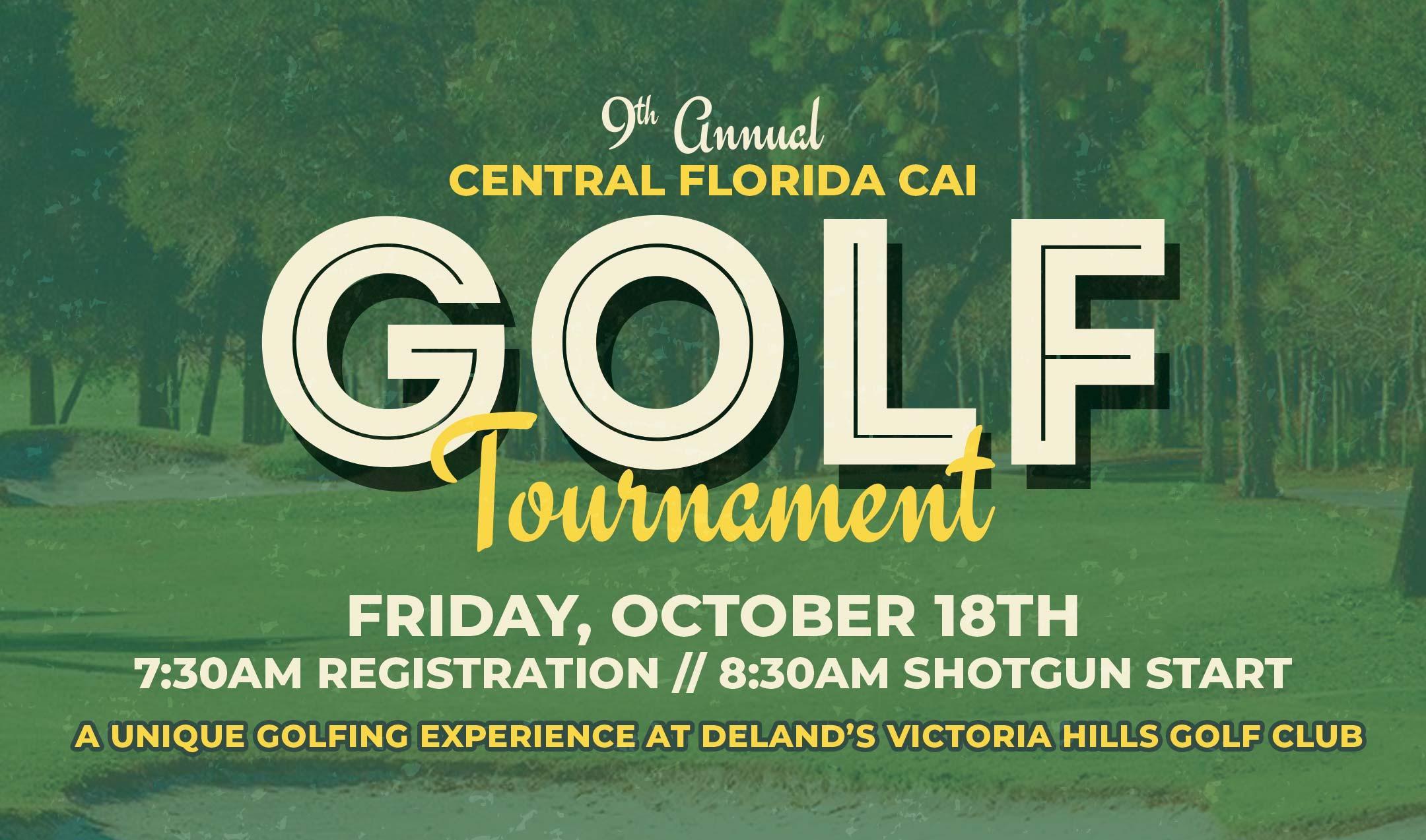 9th Annual CAICF Golf Tournament