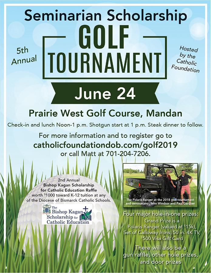 5th Annual Seminarian Golf Tournament