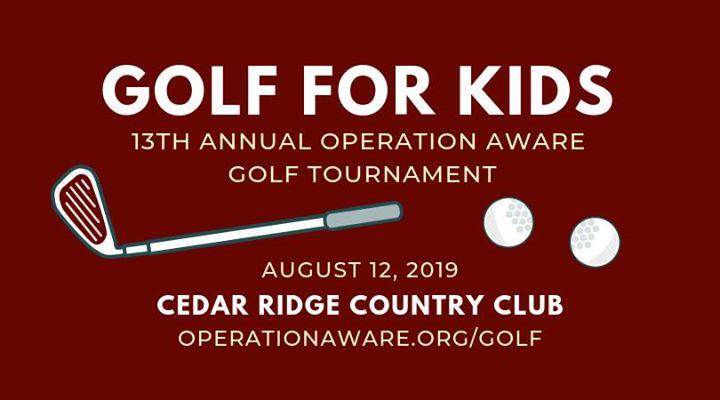 Operation Aware Golf Tournament