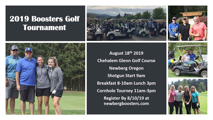 2019 Booster Golf Tournament