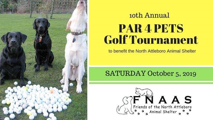 10th Annual PAR 4 PETS Golf Tournament