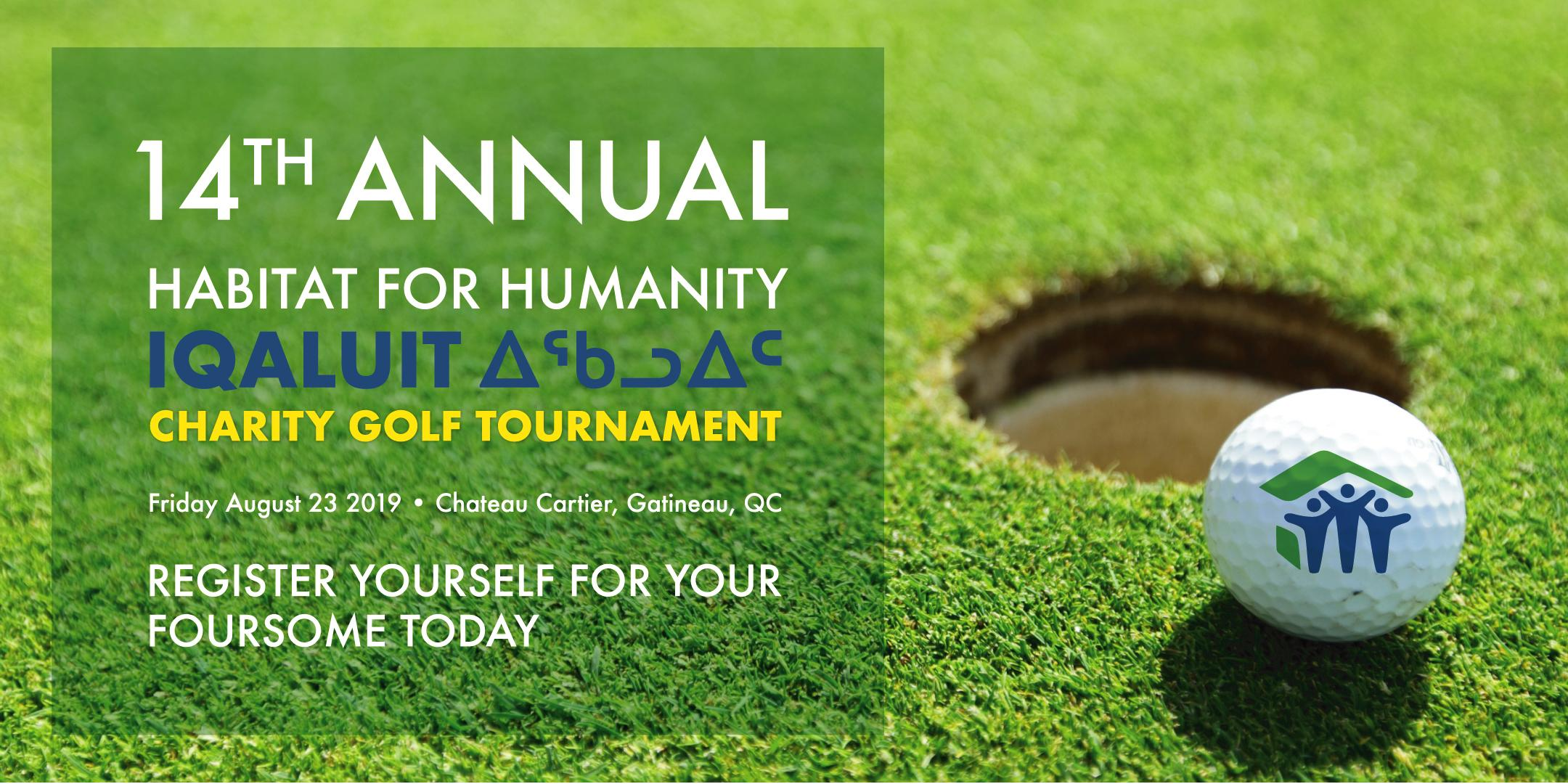 Habitat for Humanity Iqaluit 14th Annual Golf Tournament