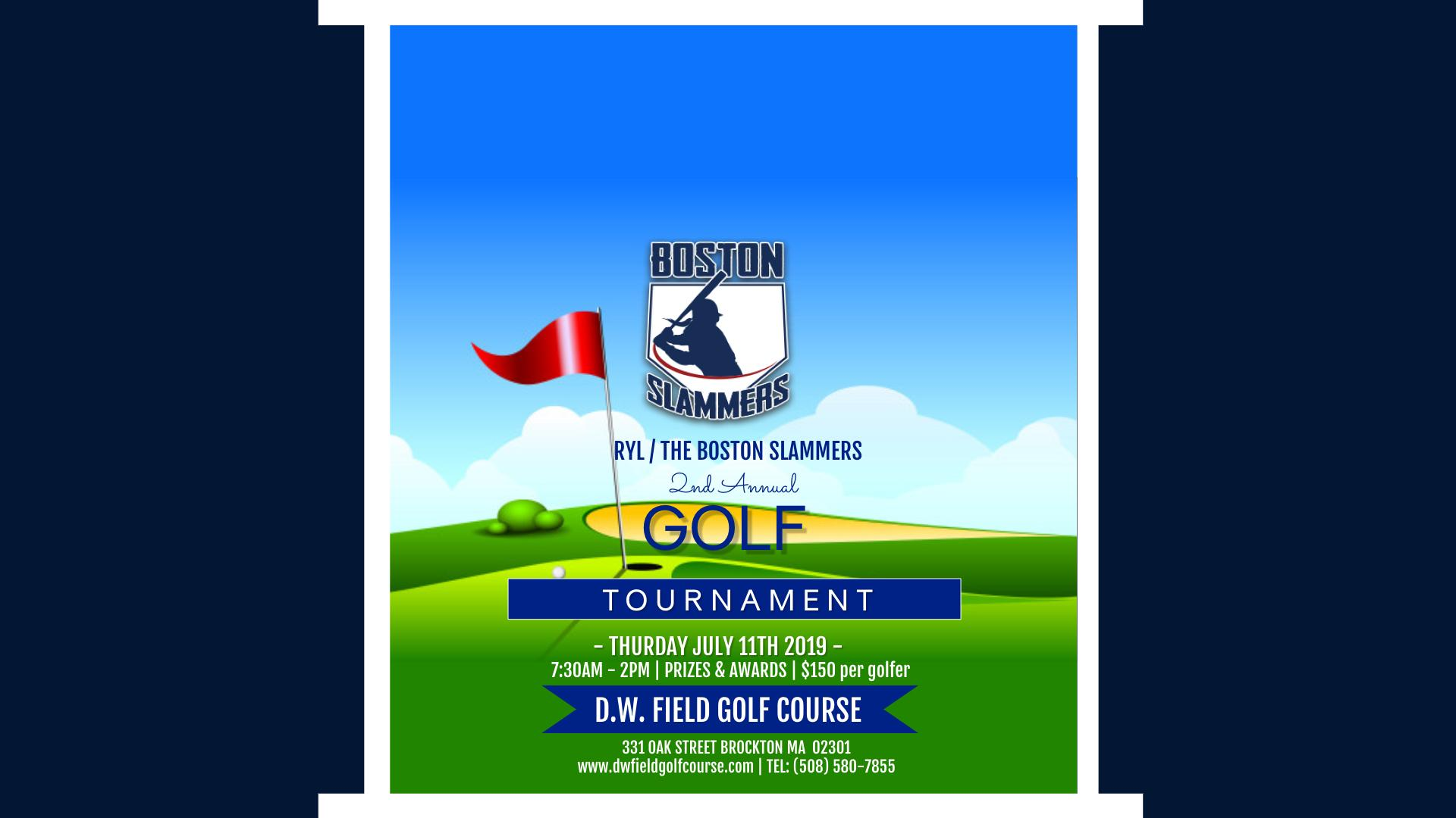 BOSTON SLAMMERS 2019 GOLF TOURNAMENT
