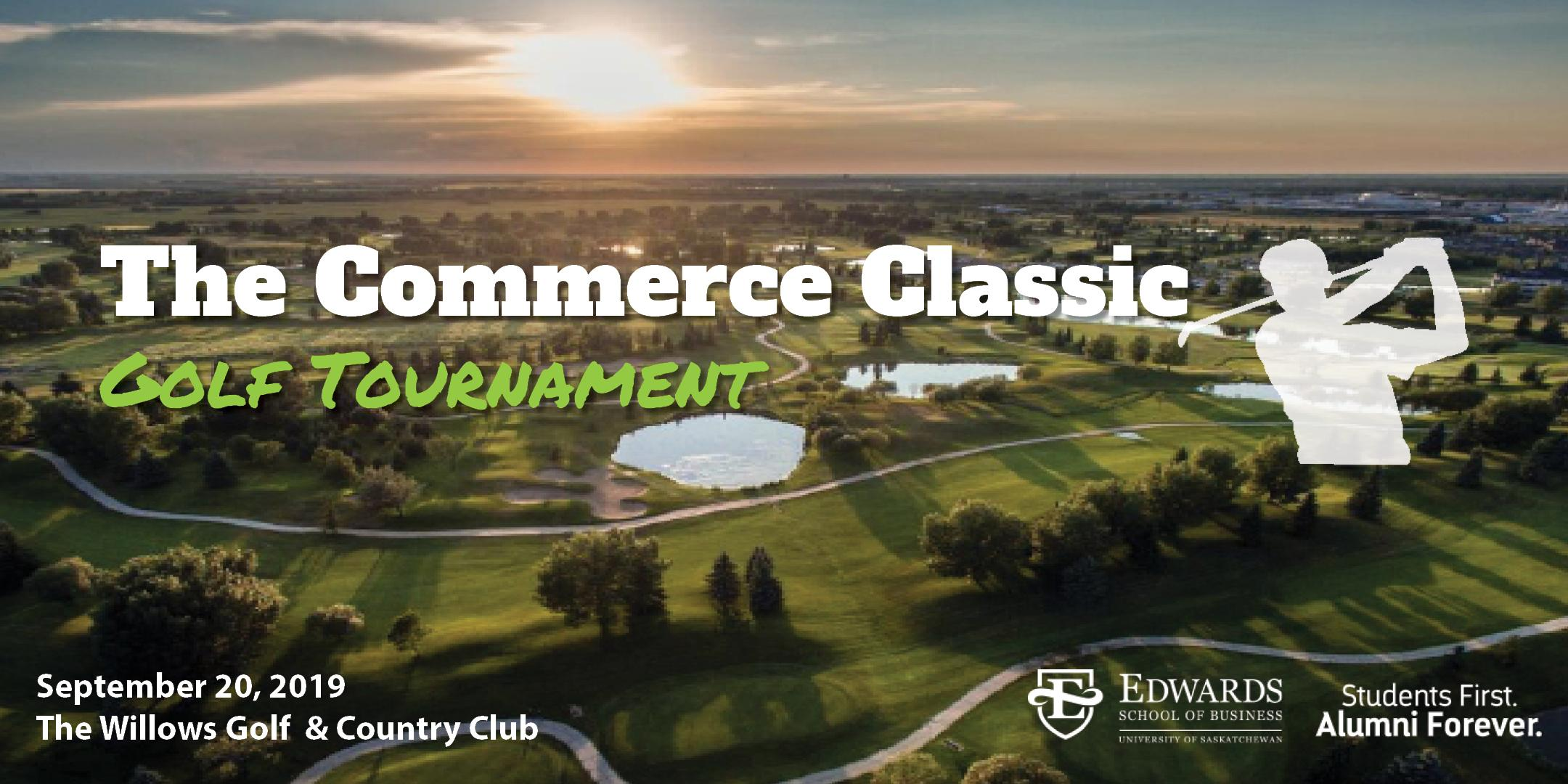 The Commerce Classic Golf Tournament (STUDENT REGISTRATION)