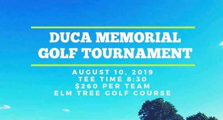 Duca Memorial Golf Tournament