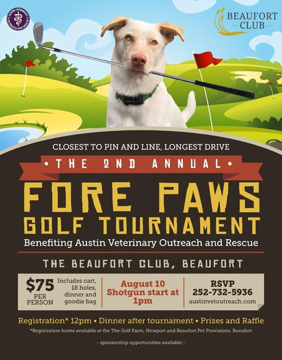 Second Annual Fore Paws Golf Tournament