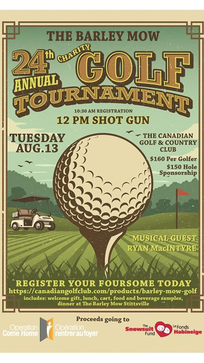 24th Annual Charity Golf Tournament