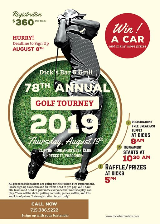 Dick's 78th Annual Golf Tournament