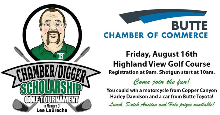 Chamber/Digger Scholarship Golf Tournament 2019