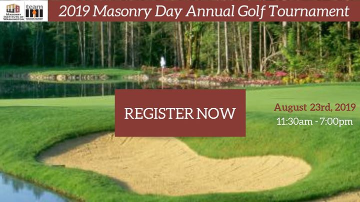 2019 Masonry Day Golf Tournament