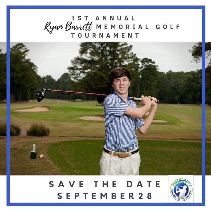 Ryan Barrett Memorial Golf Tournament