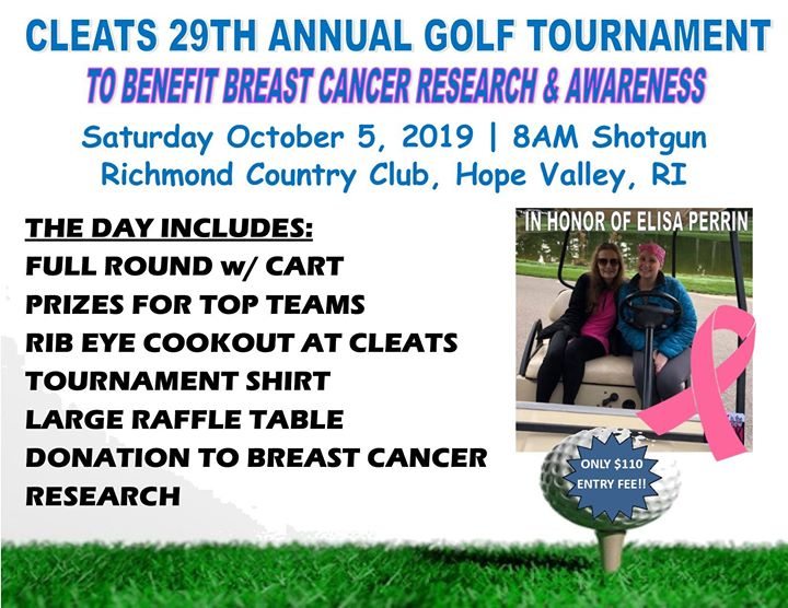 Cleats Annual Golf Tournament