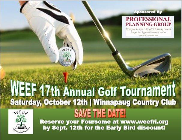 17th Annual WEEF Golf Tournament