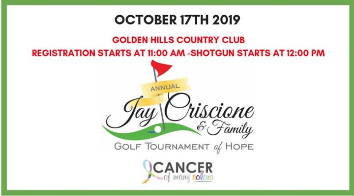 Jay Criscione & Family Golf Tournament
