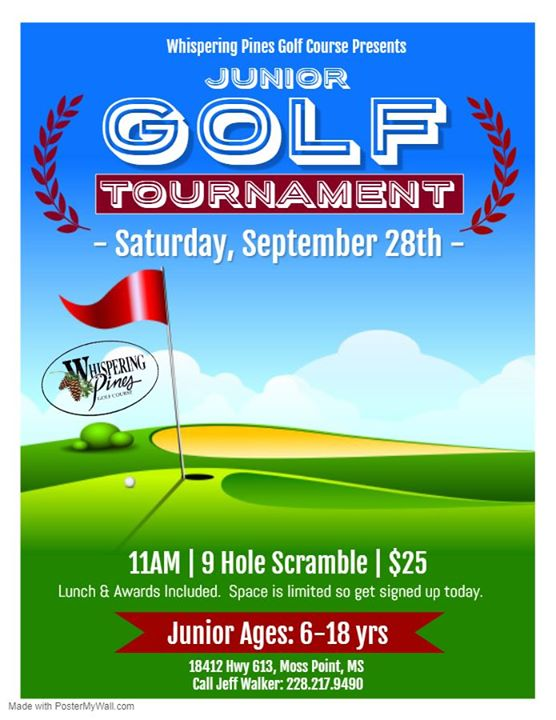 September Jr. Golf Tournament