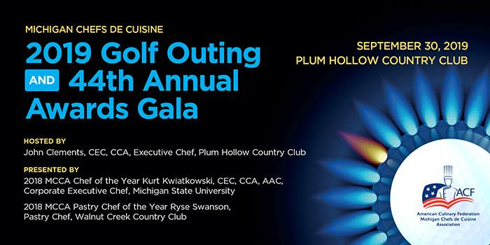 2019 MCCA Golf Outing and 44th Annual Chef of the Year Awards Gala