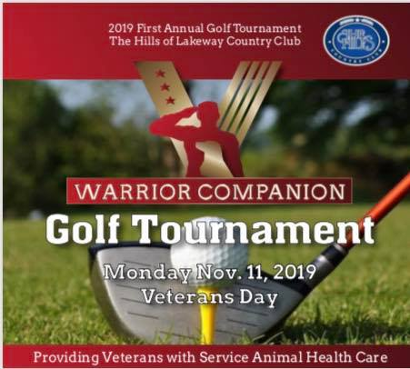 Warrior Companion 1st Annual Golf Tournament