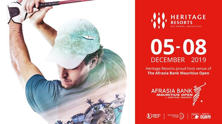 AfrAsia Bank Mauritius Open 2019 at Heritage Resorts