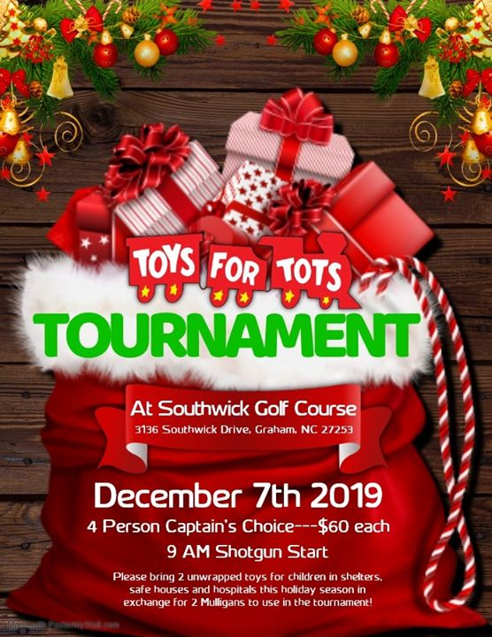 2019 Toys for Tots Tournament